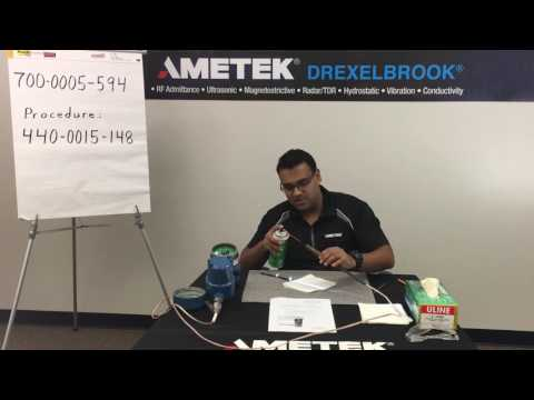 How to Clean the Drexelbrook Intellipoint 594 Probe