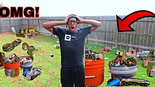 The Day After Fireworks!! **Bad Idea**