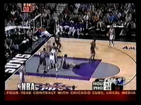 Stephon Marbury With The Killer Crossover On Yao Ming (FUNNY)