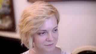 Ассиметричная женская стрижка