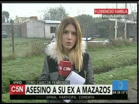 C5N  - POLICIALES: ASESINO A SU EX A MAZAZOS