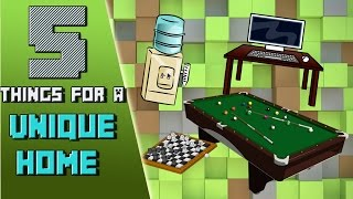Minecraft: 5 Cool Things to Make Your Home Unique