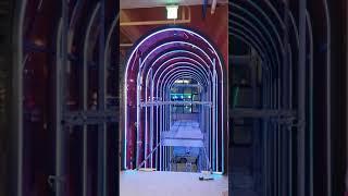 LED RGB 곡선 라인조명 시공 완료 ~~~~