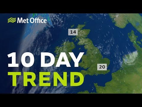 10 Day trend - will the fine weather continue?