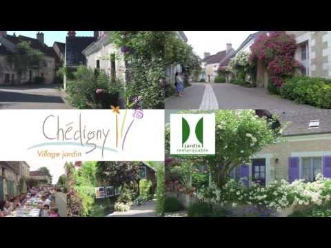 Visite Village Jardin Chedigny : Ch� digny village jardin