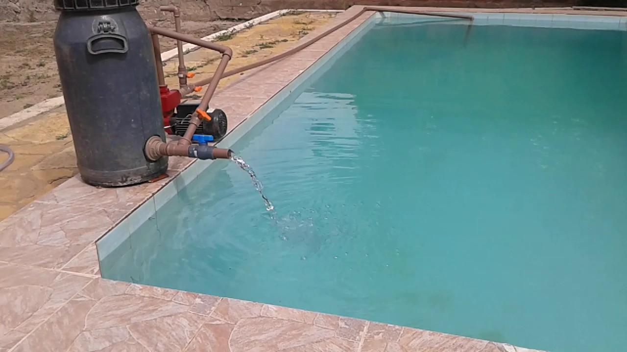 Filtro caseiro para piscina grande youtube for Filtros para estanques de jardin