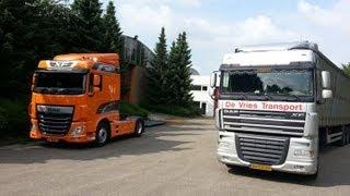 ma semaine  en  camion :)