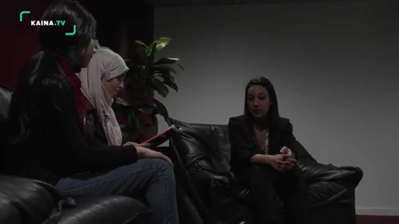 Les jeunes reporters rencontrent Nora EL HOURCH au Cinémed.