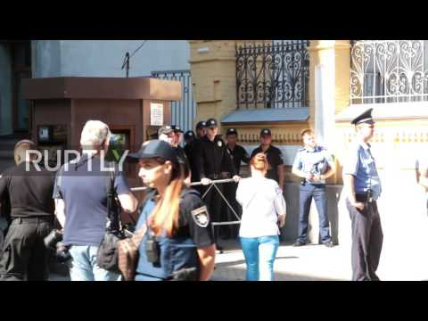 Ukraine: Savchenko leads protest demanding the release of Ukrainian troops