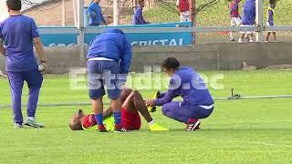 Enner Valencia sufrió un golpe previo al partido contra Perú