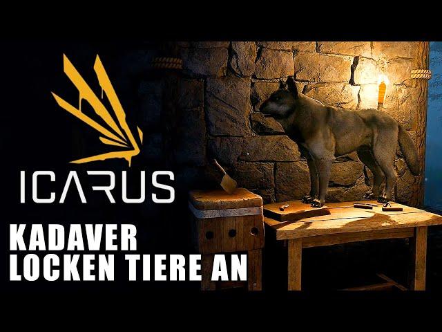 Icarus 🌿 Kadaver locken Tiere an 😲 #06 [Lets Play | Gameplay Deutsch]