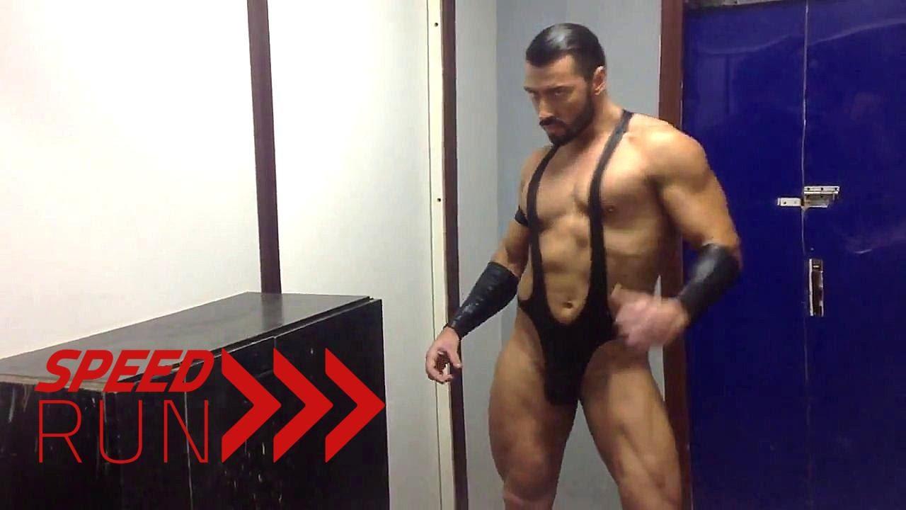 Bodybuilder Stripper