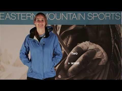 Women's Cloudburst Jacket: Eastern Mountain Sports