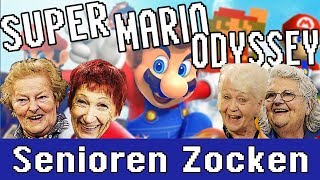 Super Mario Odyssey - mit Boss Fight - Senioren Zocken!!!