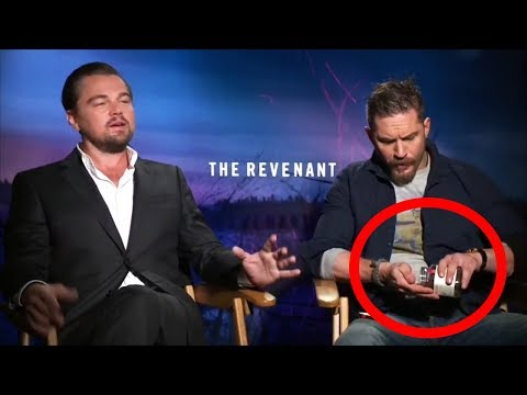 Tom Hardy Like a Boss Not Giving a F**k in Interviews