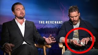 Tom Hardy Like a Boss Not Giving a Sh*t in Interviews