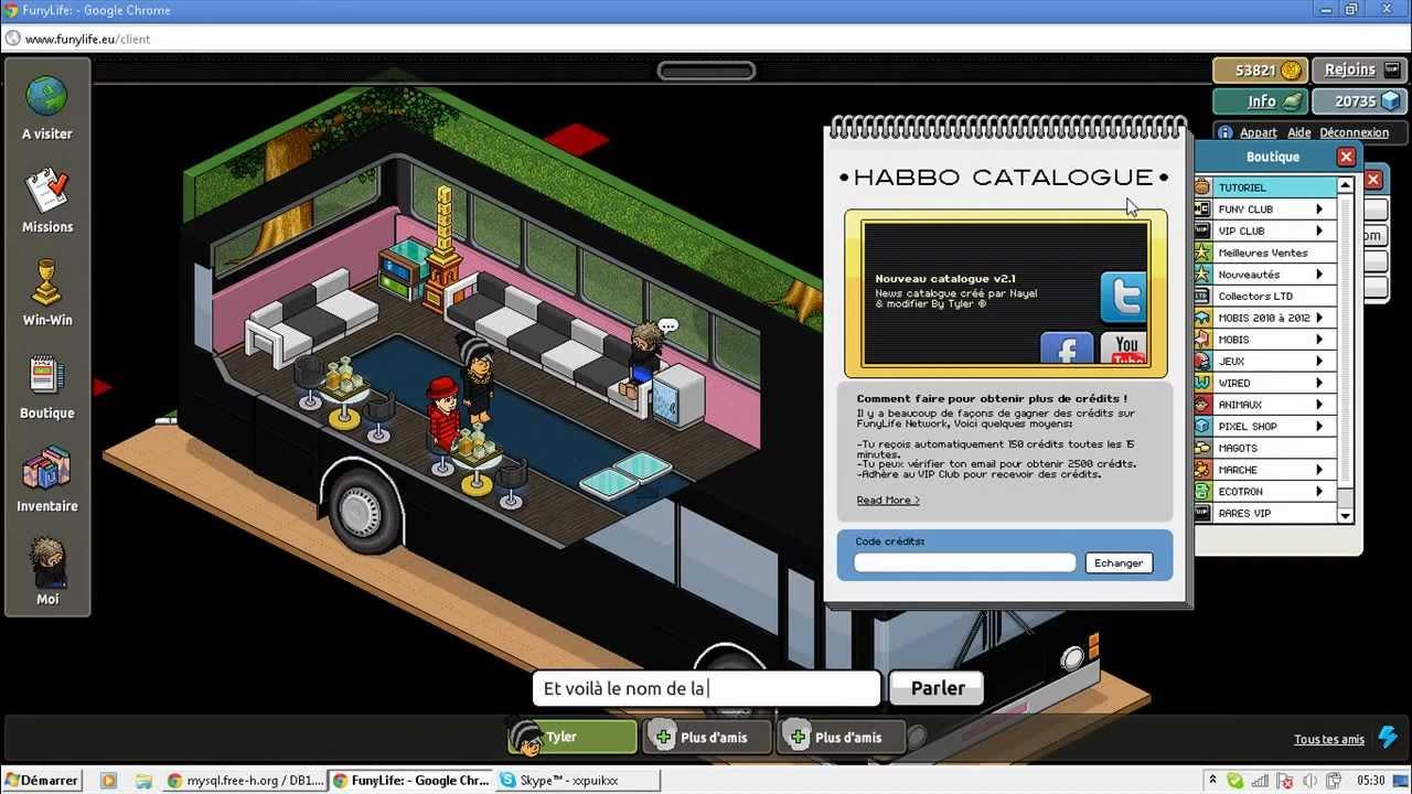 habbo changer le nom d 39 une cat gorie du catalogue tuto youtube. Black Bedroom Furniture Sets. Home Design Ideas