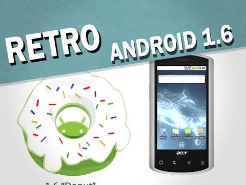 RetroPhone #1 : Android 1.6 Donut (Liquid E) - par Test-Mobile.fr