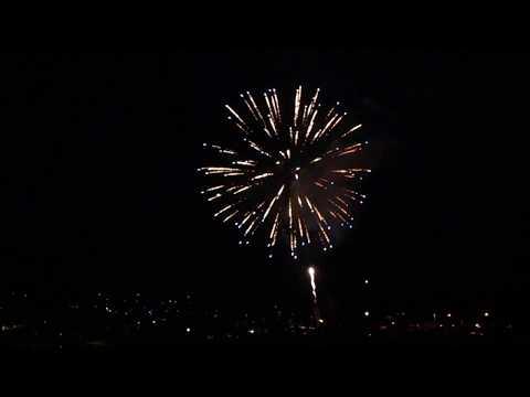 Canada Day 150 Fireworks On Salt  Spring Island