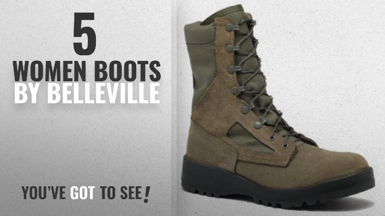 fcadde027fa2 Top 10 Belleville Women Boots  2018   Belleville 600ST USAF Sage Green Hot  Weather Steel Toe 8