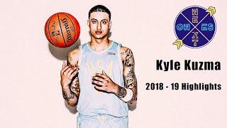 Kyle Kuzma LA LAKER HIGHLIGHTS | THE ROAD TO KUZMANIA!