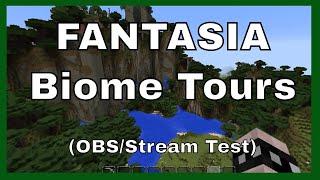 Minecraft Biome Tours in Fantasia (Custom Map)