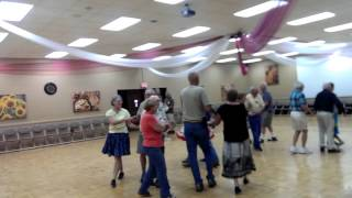 Square Dance class with last seasons Beginners in Mesa, AZ at Towerpoint Resort