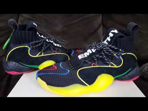 wholesale dealer 9cd11 5b228 Best BYW Colorway? Adidas Crazy BYW LVL X Pharrell Williams Gratitude &  Empathy Review!
