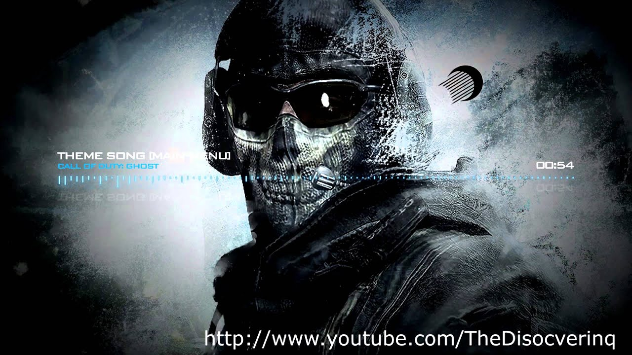 Call Of Duty Ghost Theme Song Main Menu LEAKED SONG 2013 YouTube