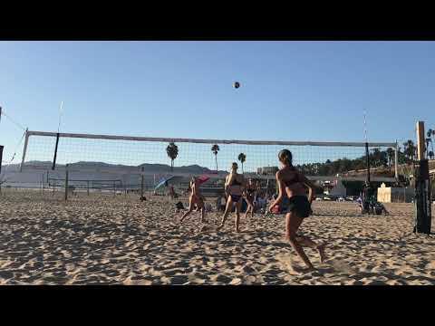 Jenna Colligan Beach Volleyball Kauai Tournament Finals 10 21 18