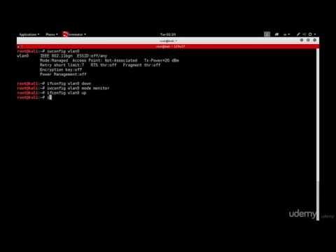 Enabling Monitor Mode Manually