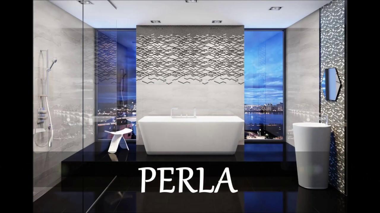 Nowoczesne łazienki Perla Ceramika Pilch Youtube