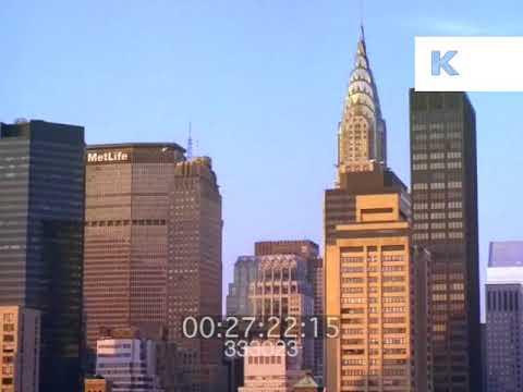 1989 Manhattan, MetLife Building, Midtown New York, 35mm