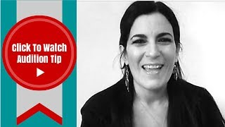 Tips For An Audition | Self Taping Tip #1 - Where To Look in Your Self-Taped Audition