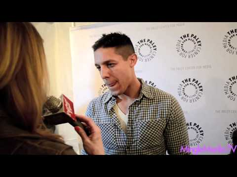 Theo Rossi at Sons of Anarchy: PaleyFest 2012 Red Carpet