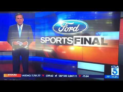 "KTLA 5 ""Sports Final"" Saturday Night open August 24, 2019"