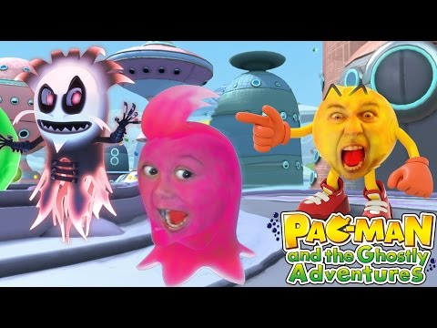 Pacman: And The Ghostly Adventures CO-OP Lets Play Gameplay Walkthrough