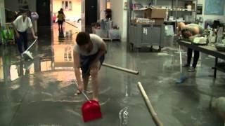 Второй текстильный тур в Италию, 2015. Вода и шерсть(Команда валяльщиц из России в Прато. Наводнение на фабрике DHG., 2015-06-27T17:34:12.000Z)