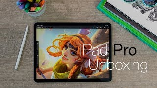 iPad Pro 2018 unboxing and set-up