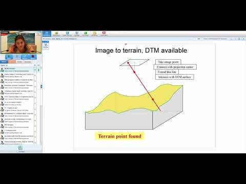 09 Jan 2018 Digital Terrestrial Photogrammetry and Application by Dr. Poonam S  Tiwari