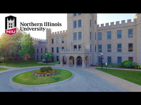 Northern Illinois University College Campus | Drone Footage