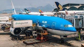TRIP REPORT | KLM | Boeing 777-200ER | Hong Kong - Amsterdam (HKG-AMS) | Economy Class