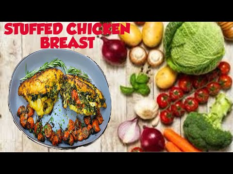 HOW TO MAKE STUFFED CHICKEN BREAST | HEALTHY MOMENTS WITH JILL