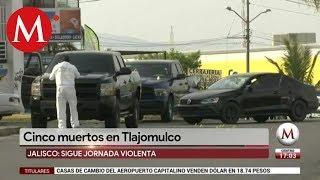 Se registra enfrentamiento en Tlajomulco, hay 5 muertos