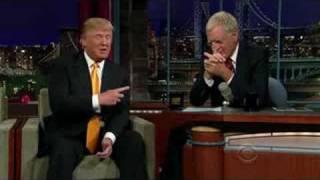 Donald Trump on David Letterman Show 2