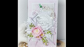 Video Tutorial - How to make a card with pocket for chocolate