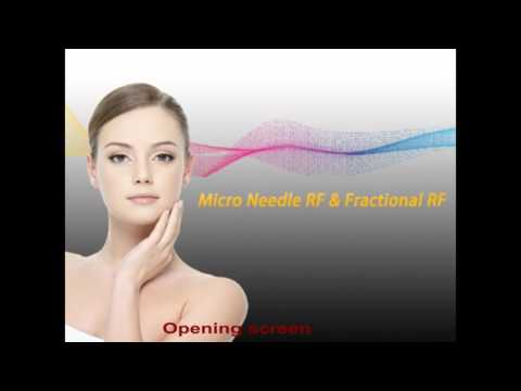 Beijing Sanhe Beauty Pinxel 2 Micro needle RF & fractional RF Operation Video