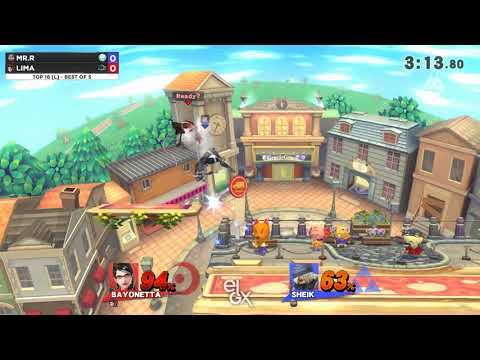 Mr. R vs Lima - EGLX 2018 - Wii U Losers Top 16