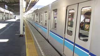 【入線】中野駅に東京メトロ東西線05系未更新車三鷹行きが入線 ミニ87