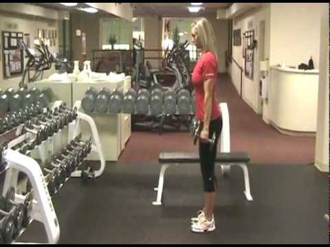 Exercise Tip: Bent Over Dumbbell Row | Seattle Athletic Club Downtown